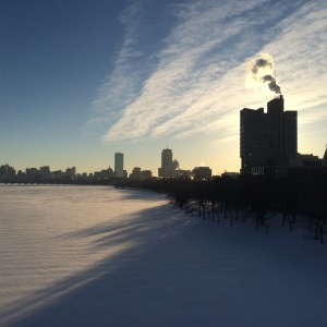 Good morning snowy Boston!